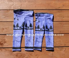 Youth Arrow Leggings, Purple, NEW! from Rockstarlette Outdoors