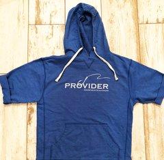 PROVIDER™ Fishing Logo Short Sleeve Hoodie, NEW
