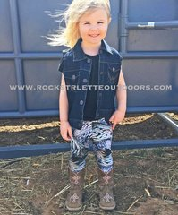 Youth Leggings, Turkey Feather, NEW! from Rockstarlette Outdoors