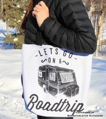 Rockstarlette Outdoors Roadtrip Tote Bag
