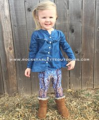 Youth Leggings, Fall Birch Tree, NEW! from Rockstarlette Outdoors