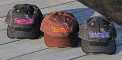 Rockstarlette Bowhunting Distressed Logo Hats, Variety of Color Options