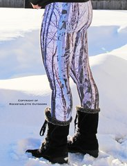 Snow Birch Leggings, NEW! from Rockstarlette Outdoors
