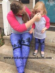 Arrow Leggings, Purple, NEW! from Rockstarlette Outdoors