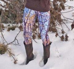 Birch Tree Leggings, Fall Birch Pattern, NEW! from Rockstarlette Outdoors