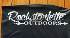 Rockstarlette Outdoors Snow Birch Logo Pencil Skirt, Stretch Fabric, NEW!