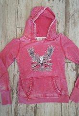 SALE $15 OFF, Pink Vintage Logo Hoodie, Rockstarlette Bowhunting