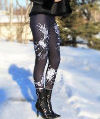 Rockstarlette Grrrl Moose Logo Leggings