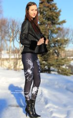 Rockstarlette Grrrl Logo Leggings, NEW!