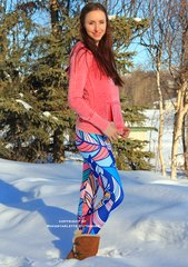 Feather Design Leggings, NEW! from Rockstarlette Outdoors
