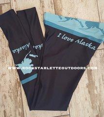 Love Alaska Leggings, NEW! from Rockstarlette Outdoors