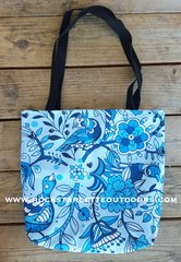 Rockstarlette Outdoors Cheerful Tote in Blue