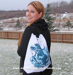 Tote Bag: Inspiration Logo, Drawstring, Made in the USA