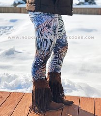 Turkey Feather Logo Leggings, NEW! Rockstarlette Outdoors