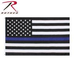 Blue Lives Matter Flag (Thin Blue Line)