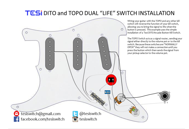 Wiring diagrams tesi guitar kill switch parts and accessories try watching this video on youtube or enable javascript if it is disabled in your browser cheapraybanclubmaster Images