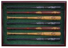 Premium 7 Baseball Bat UV Protective Shadow Box Display Case