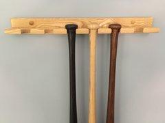 6 bat Vertical Baseball Bat Display Rack