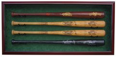 Premium 4 Baseball Bat  UV Protective Shadow Box Display Case