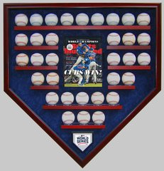 2016 World Series Champion Chicago Cubs 33 Baseball Display Case