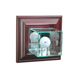 Wall Mount Single Golf Ball Display Case