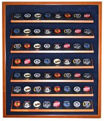 Fifty Six Hockey Puck Premium Display Shadow Box