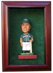 One Bobble Head Display Case Shadow Box