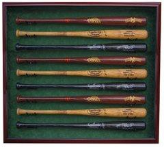 Premium 9 Baseball Bat  UV Protective Shadow Box Display Case