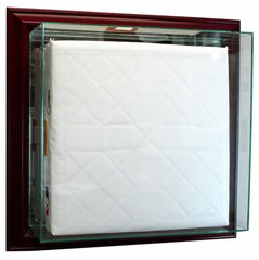 Wall Mount Baseball Base Display Case