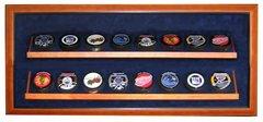 Sixteen Hockey Puck Premium Display Shadow Box