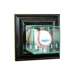 Wall Mount Baseball Glass Display Case