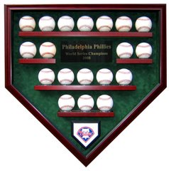 Create Your Own World Series Champions 19 Baseball Display Case