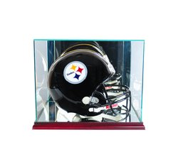 Rectangle Football Helmet Glass Display Case