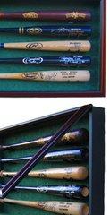 Premium Baseball Bat Display Cases Size 10 through 16 bats