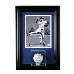 Single Baseball Display Case and 8 x 10 Frame