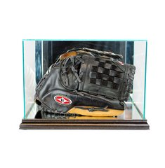 Rectangular Baseball or Softball Glove Glass Display Case