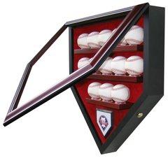 MLB Team thirteen Baseball Shadow Box Display Case