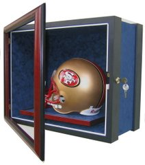 One Football Helmet Display Case