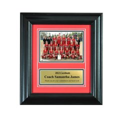 Recognition Award Frame for Individual Engraved Plaque