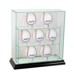 Upright 7 Baseball UV Blocking Glass Display Case