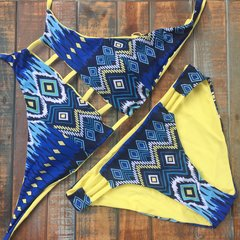 Uvita | Reversible Mayan Bandage Top