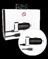 Nimbus9 Micro USB Car Charger Black