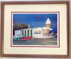 The Drive In Framed