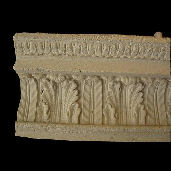 Crown molding model cas cm 001 cast stone international for Fiberglass crown molding