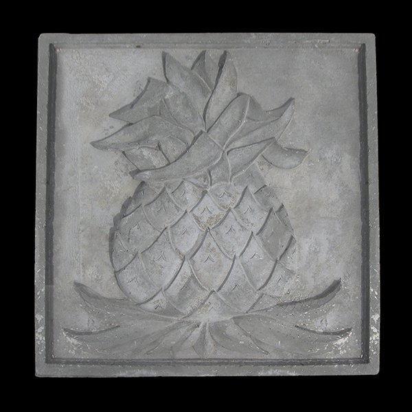 Decorative Cast Stone Pineapple Wall Plaque Cast Stone