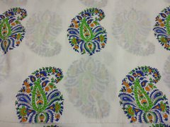 Exclusive Mughal Butta Block Printed Fabric Precut 2.5 meter Material Only BP45S