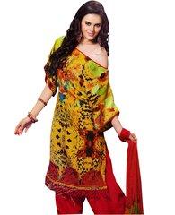 Designer Jequard Winter Pashmina Embellished Dress Material