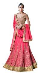 Heavy Wedding  Net Pink  Lehenga Choli SC5054