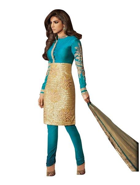 Priyanka Chopra Exclusive Blue Anarkali SC5033