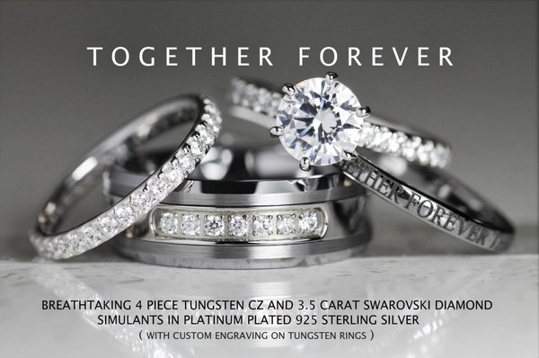 C9T TUNGSTEN Official Site mens engagement rings personalized